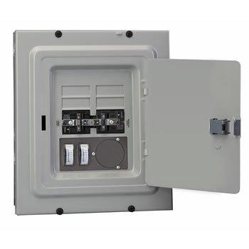 Transfer Control (Reliance Controls Corporation trb1205C 50-amp Transfer mit Meter und Einlass)