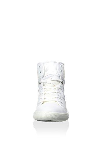 Geox D3204A 0MC10 C1000 weiß Ayumi, Stivali donna Bianco (bianco)