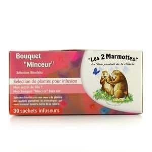 """Les 2 Marmottes - Bouquet """"minceur"""" - 30 sachets"""
