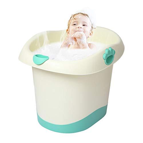 Tina De Baño para Bebé Asiento De Baño para Niños Caja De Baño para Recién Nacidos Caja para Almacenamiento...