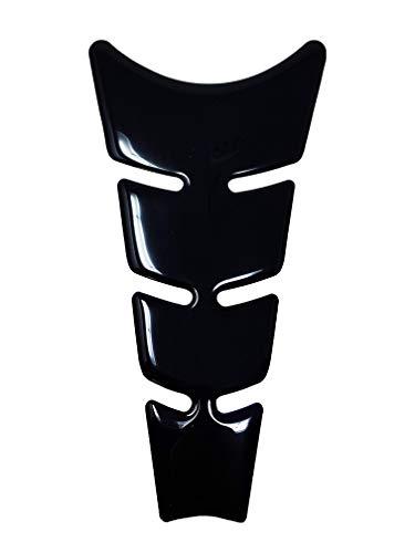 Protection Réservoir Adhésive 3D pour Motos Slim, Noir, 20,5 x 11,5 cm