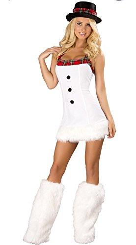Uniform Halloween Rollenspiel Dressing up Clubwear Minikleid (Dressing Up Outfits Für Erwachsene)