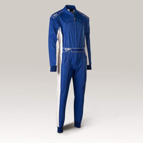 Speed Kartoverall Blau/weiß - Denver HS-2 Modell 2018 Racewear (S) - Speed Overall