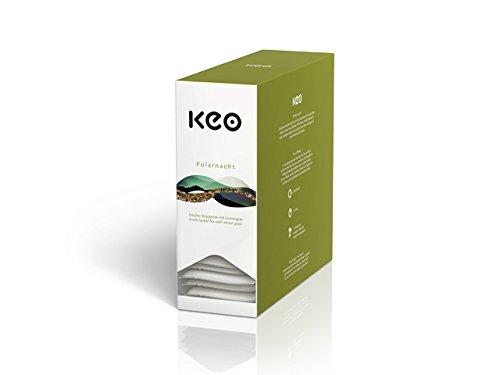 KEO Tee - POLARNACHT - 15 Teachamps im Aromakuvert