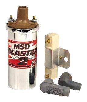 MSD 8200 Blaster 2 Bobine d'allumage, Chrome
