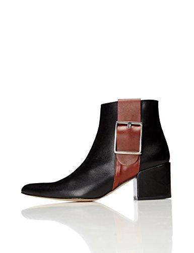 FIND Women's Boop Ankle Boots, Black (Black), 5 UK