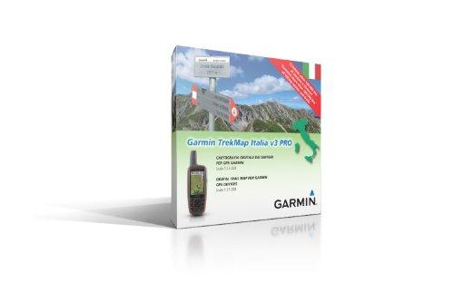 Garmin TrekMap Italia V3 Pro, Cartografia Topografica Italiana su MicroSD