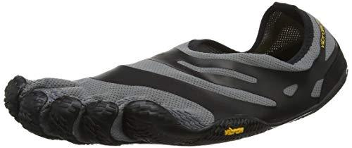 Vibram FiveFingers 16M0101 EL-X, Fitnessschuhe Herren, Mehrfarbig (Grey/black), 43 EU Hand Moc