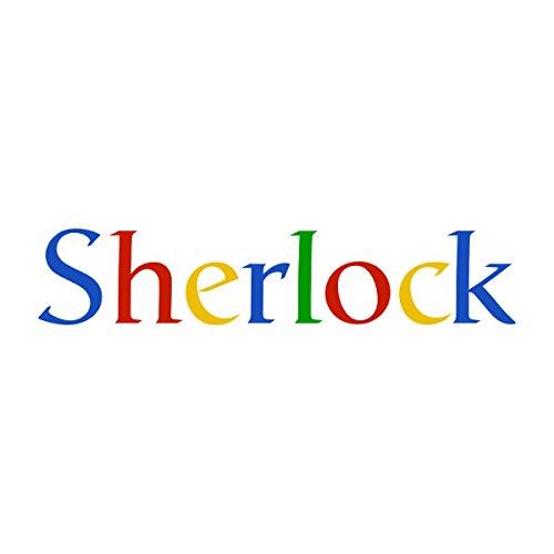 Sherlock Holmes Google Women's Sweatshirt white