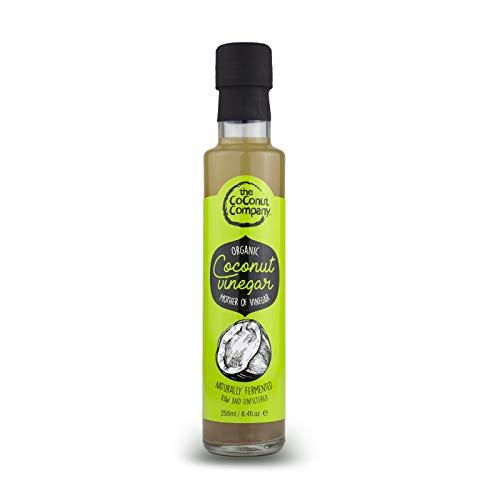 Vinagre de Coco Orgánico con Madre del Vinagre 250ml - The Coconut Company, Quantity:1 botlle