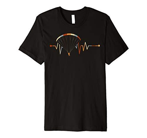 Paragliding T-Shirt - Herzschlag Gleitschirmfliegen Shirts