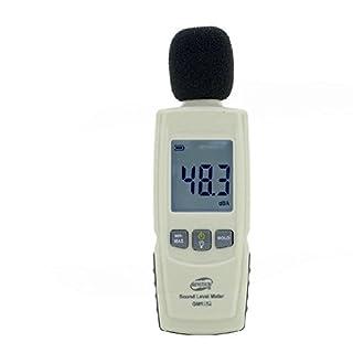 YH-THINKING Baumarkt Elektro Handwerkzeuge Mess Planwerkzeuge Ortungs Prüfgeräte Schallpegelmesser Schallpegelmesser, Digital Noise Meter Range 30 dBA ~ 130 dBA