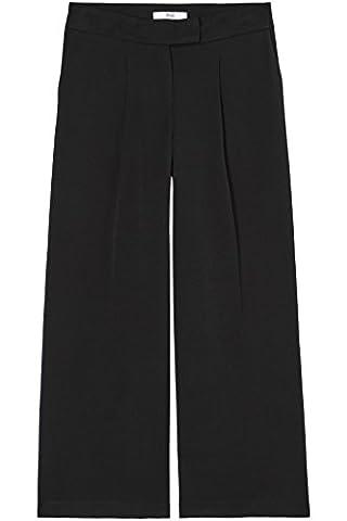 FIND Damen Weite Anzughose Schwarz (Black), 34 (Herstellergröße: X-Small) (Black & Decker Router)