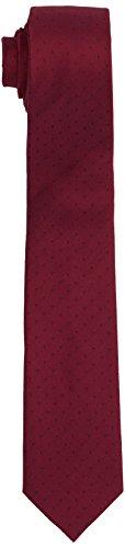 Calvin Klein Herren Slim 6.4 Cm Krawatte, Rot (Light Red 604), One size -