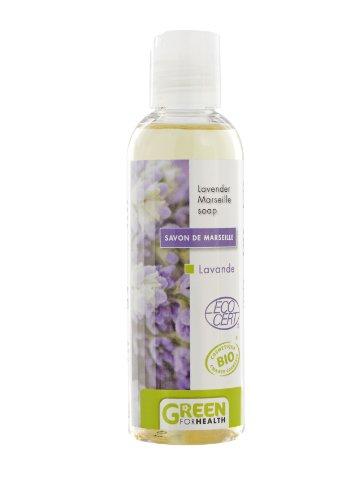 Green For Health Savon de Marseille Bio Lavande Flacon de 100 ml Lot de 2