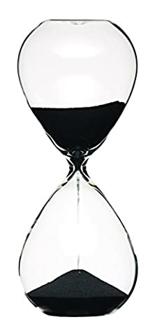 Master Class 3-Minute Hourglass Sand Timer, 6.5 x 16 cm