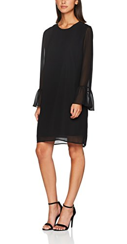 SELECTED FEMME Damen Kleid Sflima LS Dress, Schwarz (Black), 40