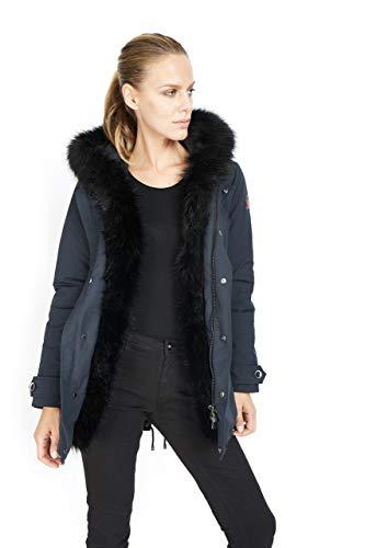 dc6b09ddab17 Dakota - Eskimo Donna Fox - Parka Cappuccio Ecopelliccia Cappotto Inverno  2018 Moda Giacca Giubbotto