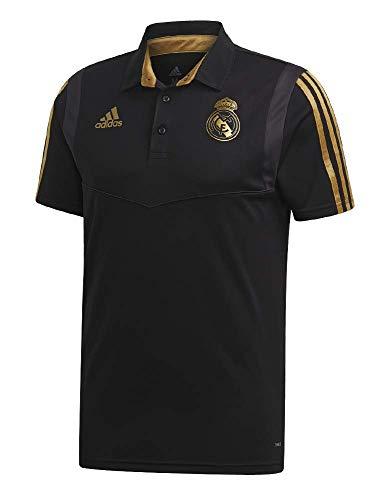 adidas Performance Real Madrid Poloshirt Herren schwarz/Gold, L -