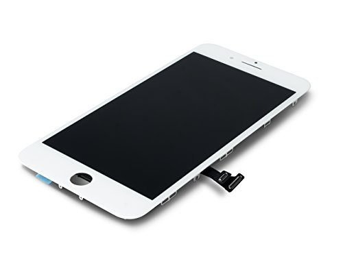 VONUO Apple iPhone 7 Plus Display Austausch Set Weiß, Ersatz für das original Retina Display, LCD Reparatur-Set inkl. Werkzeug