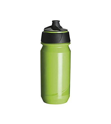 Tacx Trinkflasche Shanti Twist 500 ml mit Membranverschluß Colour, Blau Grün