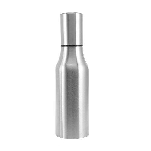 SHUFAGN,Edelstahlgewürzflasche für Ölessig(color:SILBER,size:750ML)