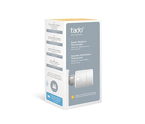 Preisvergleich Produktbild tado° Smartes Heizkörper-Thermostat (Zusatzprodukt) - intelligente Heizungssteuerung per Smartphone