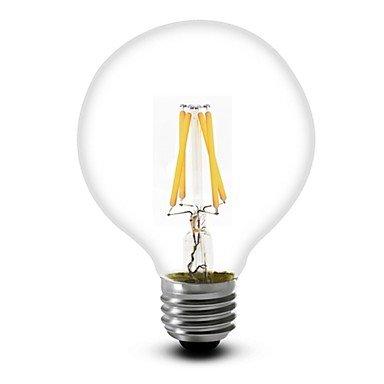 1 pieza SHENMEILE E26/E27 4W 4 COB 350 LM Blanco Cálido G60 edison Cosecha Bombillas de Filamento LED AC 100-240 / AC 110-130 V , 220-240v