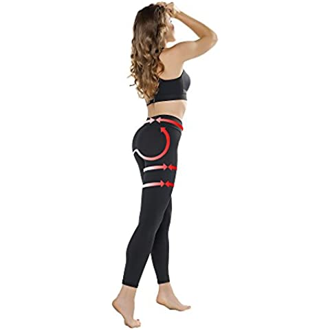 Pantalones Deportes Fitness,Push Up Anticelulitis para Mujeres