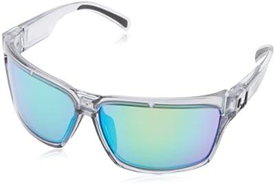 Spy - Gafas de sol Wrap Cutter Clear Smoke para hombre