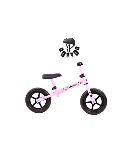 Grupo K-2 Minibike Bicicleta Niños Baby Star Rosa