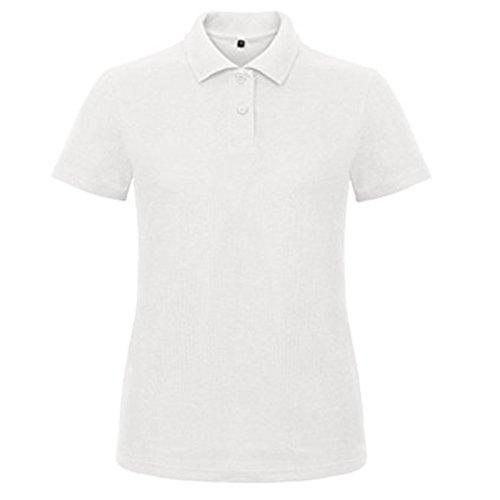 B&C Collection Damen Modern T-Shirt Gr. S, weiß (Dress Men And ' Tall Shirts Big S)