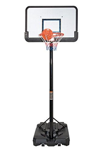 Basketballkorb mit Ständer höhenverstelllbar bis 305cm inkl. Ball und Pumpe