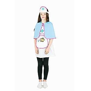 Bodysocks® Disfraz de Enfermera Niña (4-6 años)