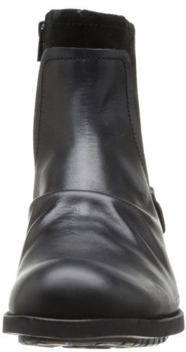 Base London Magnet, Stivali uomo Nero (Black Waxy/Suede)