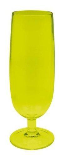 Zak Designs 0204-630 Flute à Champagne Stacky Vert 16 cl