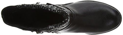 Marco Tozzi Cool Club 46408, Bottes Classiques Fille Noir (BLACK ANT.COMB 096)