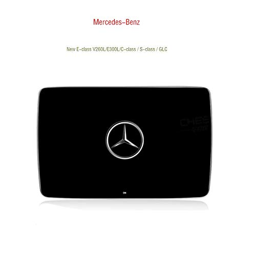 Hahaiyu Auto Kopfstützen Monitor 11,6 Zoll, 4K 1080P Display, IPS 2.5D Vollwinkel Bildschirm, 8-Kern, für Benz New E V260L / E300L / C-Klasse/S-Klasse/GLC, paarweise verkauft (Monitor Wifi-auto-kopfstütze)