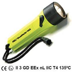 PELI Xenon-Taschenlampe StealthLite 2400 Z1 Ex, schwarz Für EX-Zonen: 1 Xenon Glühbirne ITS09ATEX26180X 2400-020-241E G