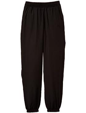 Puma  Fun TD Woven Pants Closed G - Pantalones deportivos para niña, color negro, talla 116 cm