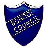 ShieldBadge School Council Blue Academic Trophy Award