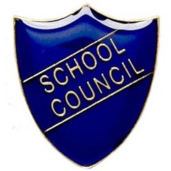 ShieldBadge School Council Blue Academic Trophy Award