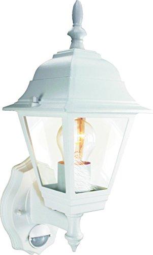 Antike Lampe Weiß (Smartwares ES94W Außenbeleuchtung – Bewegungsmelder – Klassische Laterne)