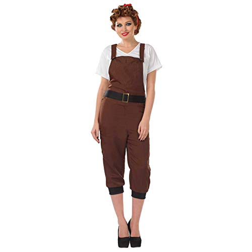 Fun Shack FN3960XL Kostüm, Women, Land Girl, xl
