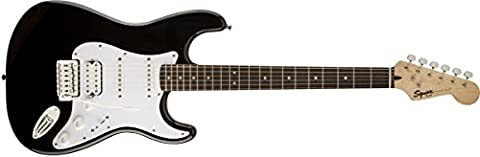 Squier Bullet Stratocaster H/S/S Electric Guitar With Tremolo - Black