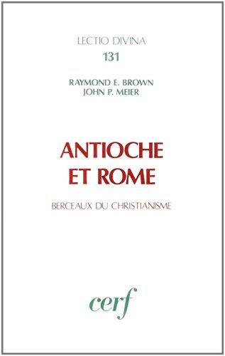 Antioche et Rome