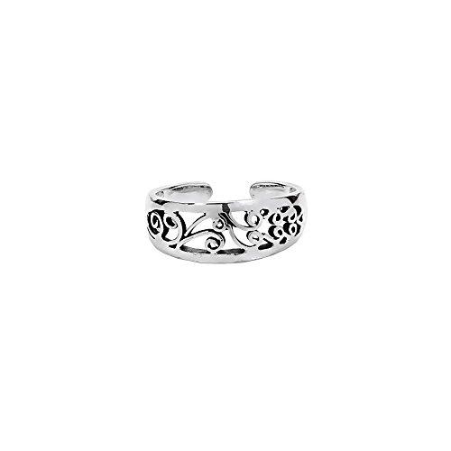 NKlaus Anello celtico da dito del piede, in argento Sterling 925,Thalia 7202