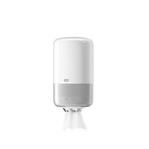 Tork 558000 - Dispensador mini de alimentación central, color blanco