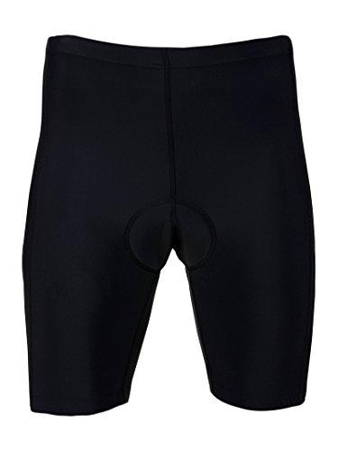 Culotte Profesional Color Negro Corto Talla L de Ciclismo + Badana Antiparasitaria Density Antibacterial Bicicleta 3772L