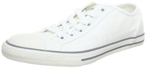 Calvin Klein Jeans LEN LOGO JACQUARD, Scarpe stringate uomo, Weiß (Wht), 45